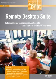 Remote Desktop Suite - ThinPrint Homepage - High-performance ...