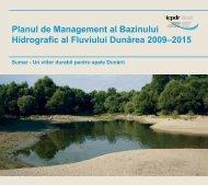 Planul de Management al Bazinului Hidrografic al Fluviului Dunărea ...
