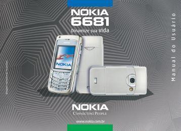 Nokia 6681 Manual do Usuário