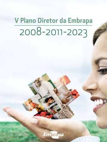 Plano Diretor da Embrapa – PDE - Embrapa Suínos e Aves