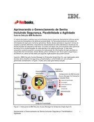 Aprimorando o Gerenciamento de Senha Incluindo Segurança ... - IBM