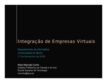 Integração de Empresas Virtuais - Wiki - Universidade do Minho