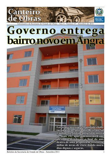 Setembro - Governo do Estado do Rio de Janeiro