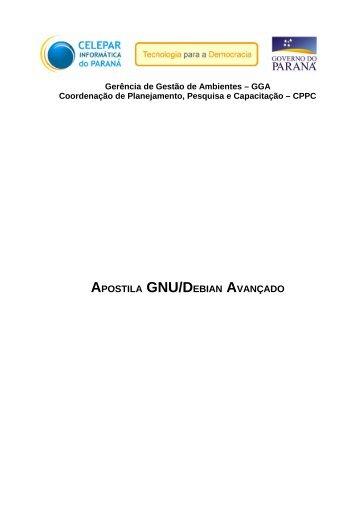APOSTILA GNU/DEBIAN AVANÇADO - Gerds