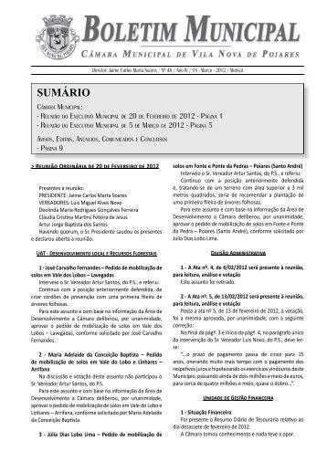46 - Câmara Municipal Vila Nova de Poiares