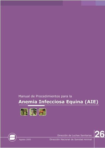 Normativas para Anemia Infecciosa Equina