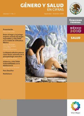 boletín • salud y género en cifras 7.3 - Centro Nacional de Equidad ...