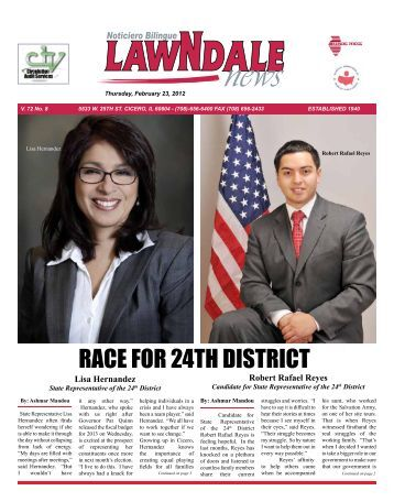 RACE FOR 24TH DISTRICT - Lawndale News