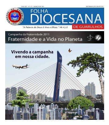 Folha Diocesana - Março 2011 - Diocese de Guarulhos