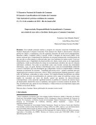 1 VI Encontro Nacional de Estudos do Consumo II ... - SISGEENCO