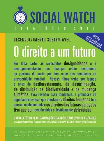 resumida - Social Watch