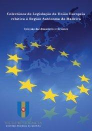 Selecção das disposições relevantes - draece - Governo Regional ...