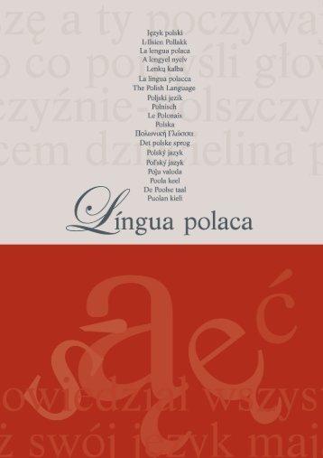 língua flexionada - Rada Języka Polskiego