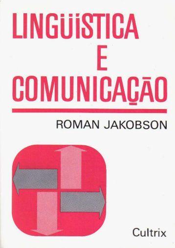 Roman Jakobson - Prof. Felipe Kupske