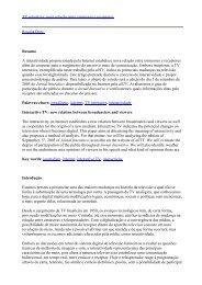 TV interativa_nova relacao entre emissores e receptores