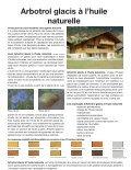 Arbotrol glacis à l'huile naturelle - Page 2
