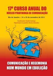 Apostila 17º Curso Anual.indd - Núcleo Piratininga de Comunicação