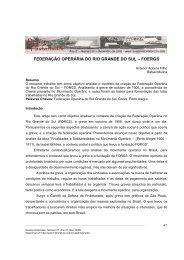federação operária do rio grande do sul - foergs - História Livre