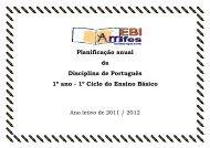 Planificacao Lingua Portuguesa.pdf - Escola Básica Integrada de ...