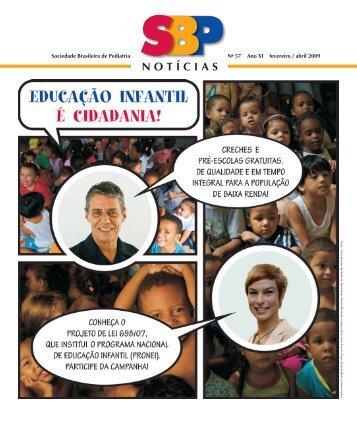 NOTÍCIAS - Sociedade Brasileira de Pediatria