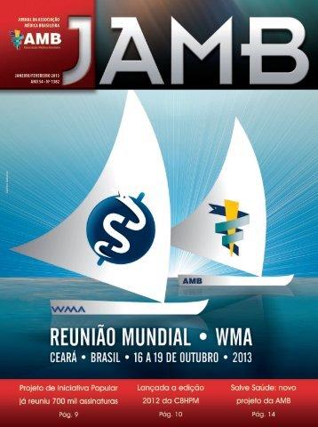 Janeiro/ Fevereiro - Associação Médica Brasileira