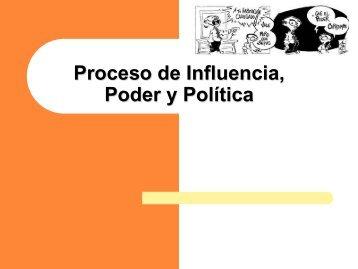 Proceso de Influencia, Poder y Política