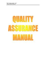 Download - Quality Assurance Manual - Pier Components, LLC