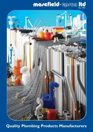 Quality Plumbing Products Manufacturers - Masefield Beta Ltd