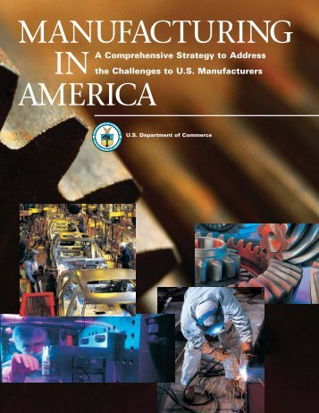 Manufacturing in America - National Institute of Standards and ...