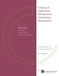 A Survey of Digital Press Manufacturers - Printing Industry Center ...
