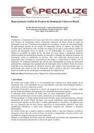 Modelo para a formatação dos artigos científicos - IPOG