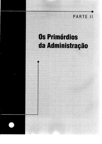 oexemplo da Igreja Católica - Introdução à Administração
