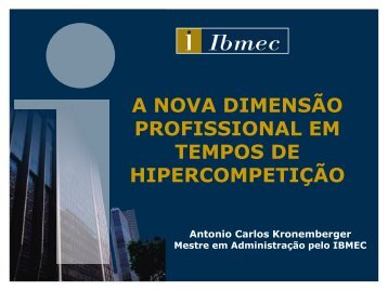 Antonio Carlos Kronenberg - ABRH-RJ