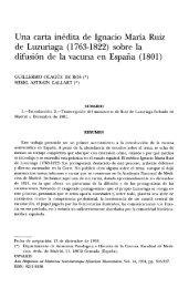 Una carta inédita de Ignacio María Ruiz de Luzuriaga (1'763 ... - Raco