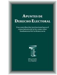 apuntes de derecho electoral apuntes de derecho electoral
