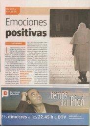 Emociones positivas - Nuestro Tiempo Libre