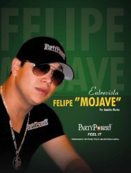 Entrevista - Felipe Mojave