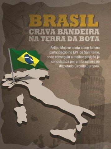 Brasil crava bandeira na terra da bota - Felipe Mojave