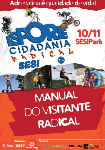 Manual do Visitante Radical - SESI