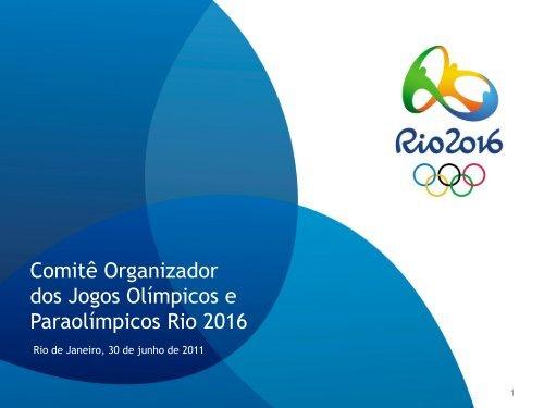 Comitê Organizador dos Jogos Olímpicos e Paraolímpicos ... - Antaq