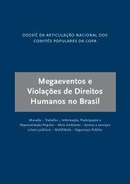 Megaeventos e Violações de Direitos Humanos no Brasil - Pública