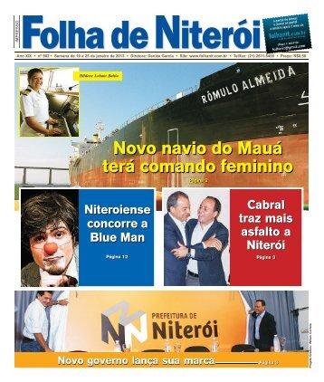 Edição 902 clique e faça o download - Folha de Niterói