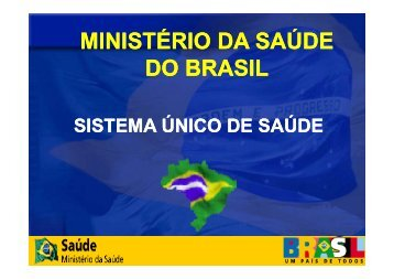 MINISTÉRIO DA SAÚDE MINISTÉRIO DA SAÚDE DO BRASIL