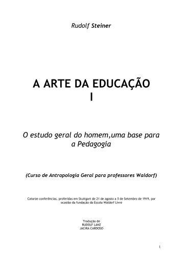 A Arte da Educação I - Cultura Digital