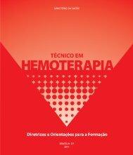 Técnico em hemoterapia - Ministério da Saúde