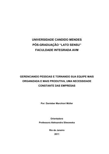 faculdade integrada avm - AVM Faculdade Integrada