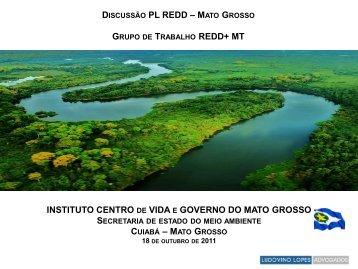 PL REDD - 18 Outubro - Instituto Centro de Vida
