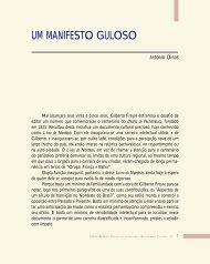 Um manifesto guloso - Légua & meia