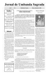 Ano 1 Ed 005 Set 2000 - Colégio de Umbanda Sagrada Pena Branca