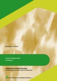 Referencial de Formação Formação Pedagógica Inicial de ... - IEFP